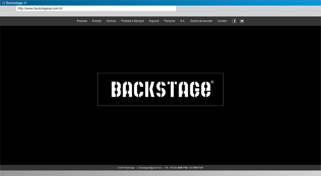 Backstage - Abertura