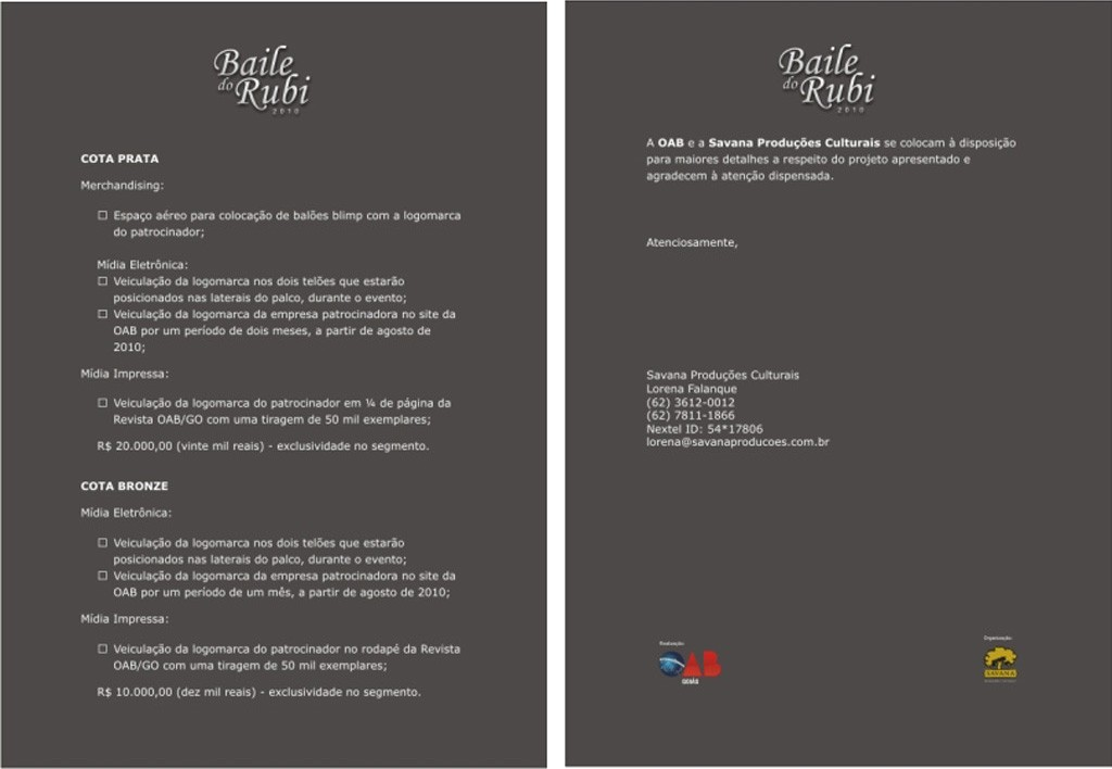 Baile do Rubi - Projeto3
