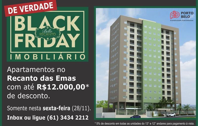 Bello Recanto  Black Friday banner