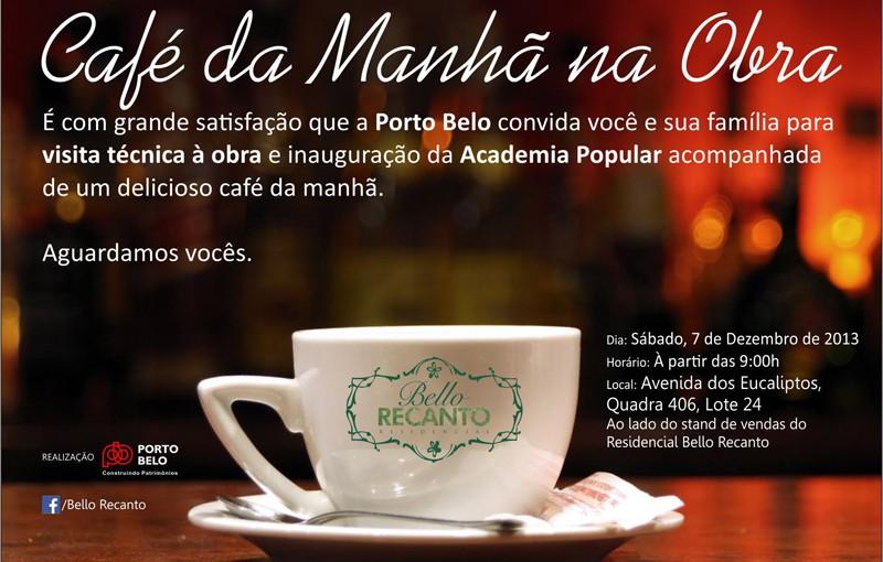 Bello Recanto  Cafe na obra2