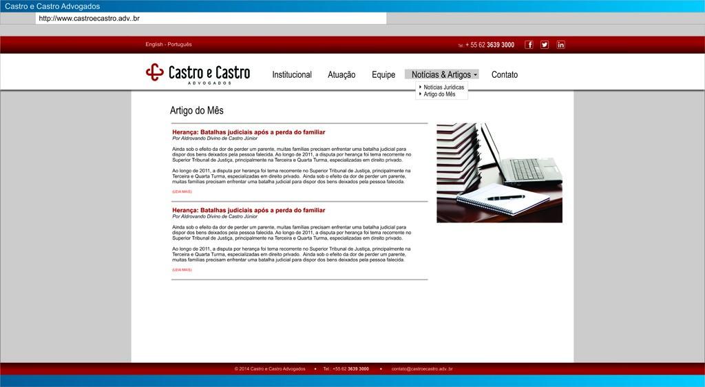 CastroCastro - Artigos
