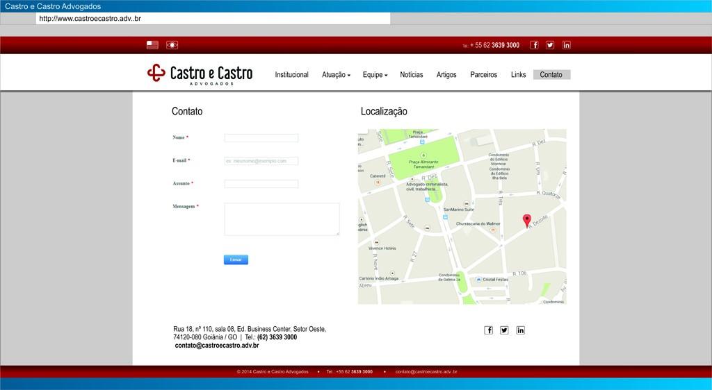 CastroCastro - Contato