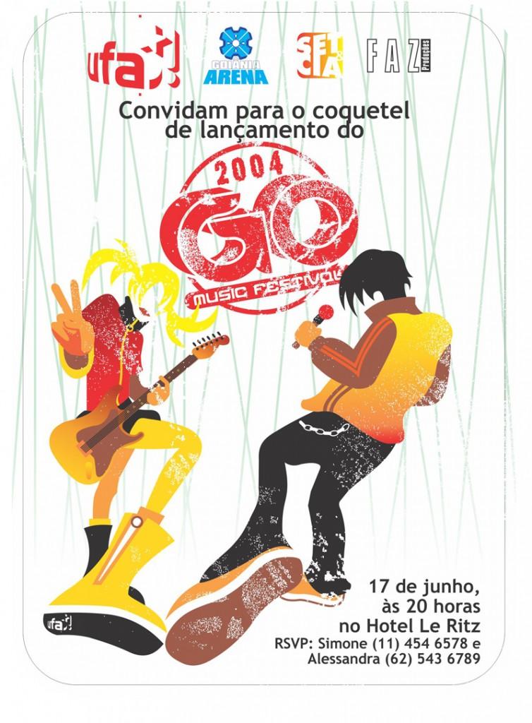 GO MUSIC 4 Convite