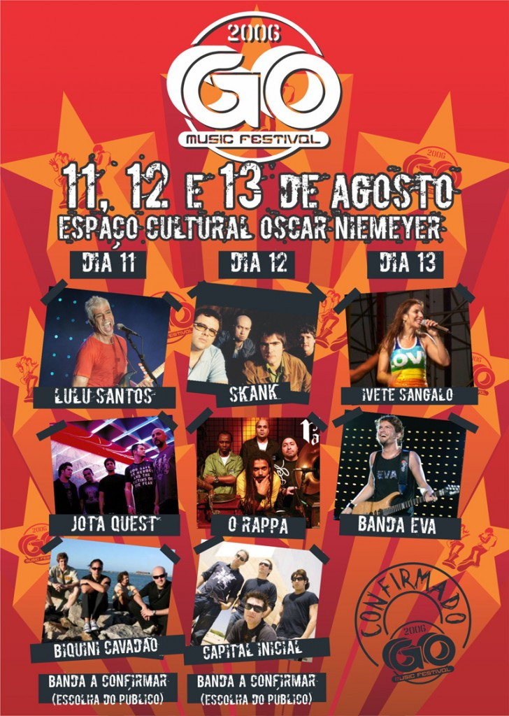 GOMusic 6 Flyer