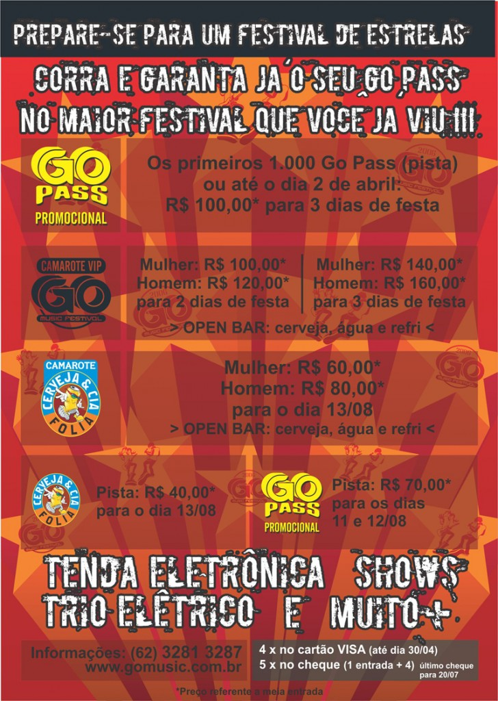GOMusic 6 Flyer B