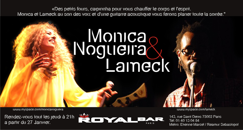 Monica Noqueira - Flyer