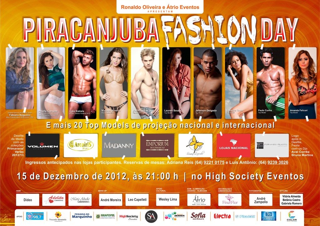 Piracanjuba Fashion Cartaz