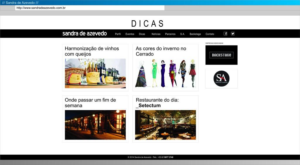Sandra - Dicas 01