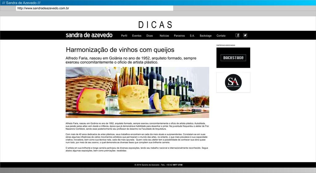 Sandra - Dicas 02